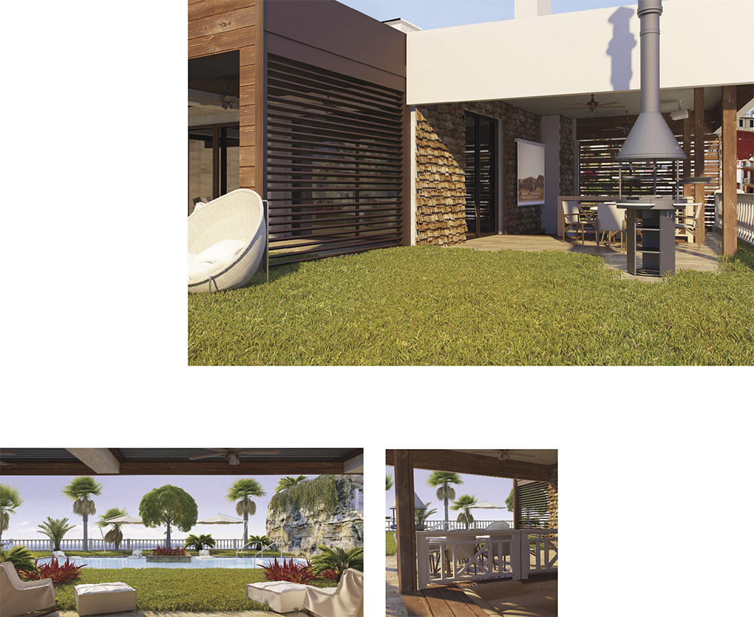 Villa Cala D'Ór El Campello luxury garden with terrace and barbacue, luxury house, new building,  marble swimming pool