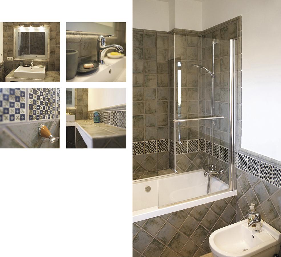 Casa Coveta fumá Reforma de lujo baño rustico, Campello Alicante