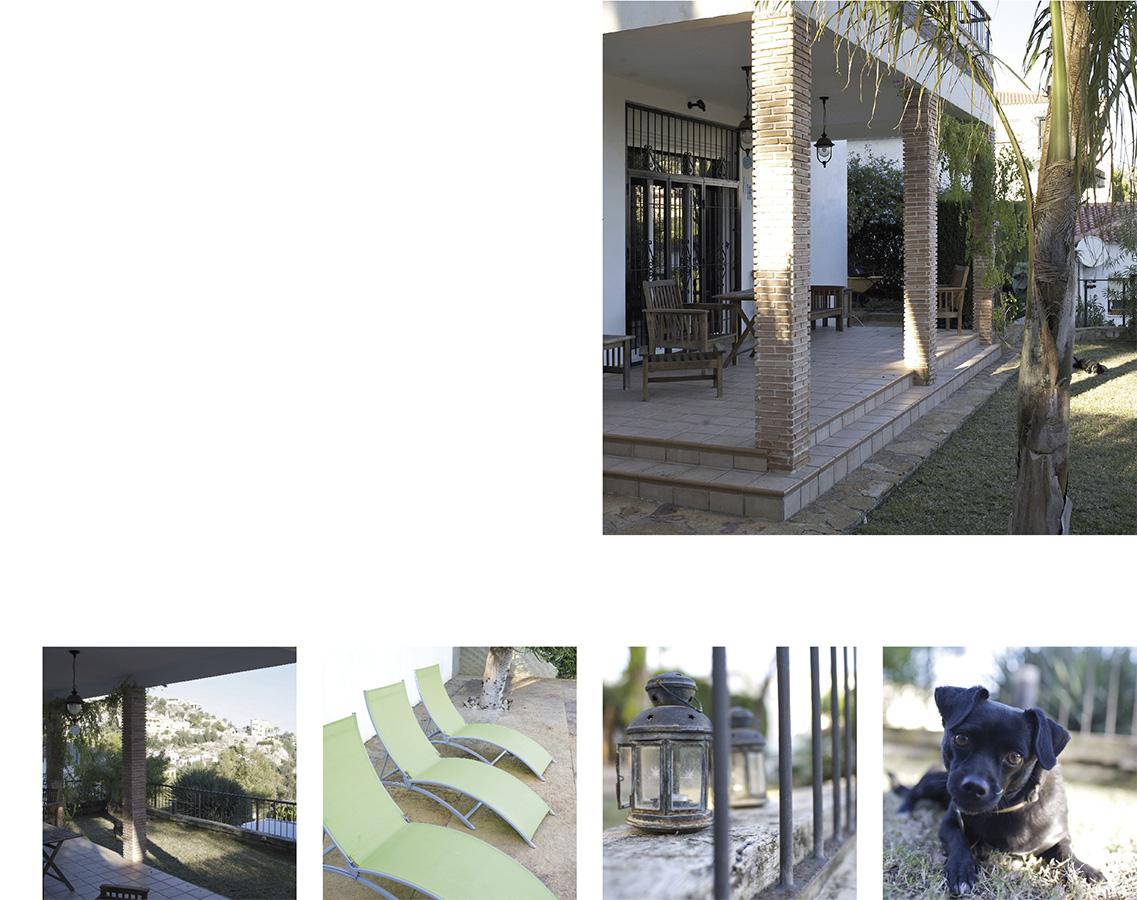 Casa Coveta fumá Reforma de lujo fachada más jardín, Campello Alicante