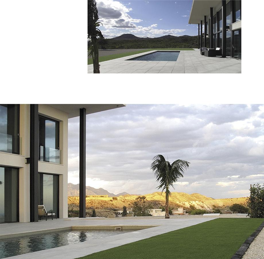 Villa Bella Mutxamiel Swimming pool, garden, modernist, new building Alicante Campello