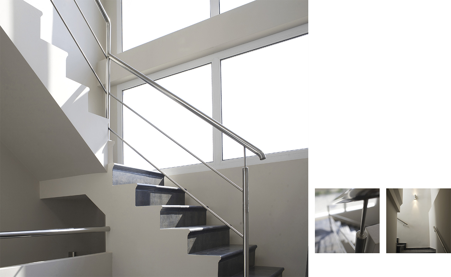 Villa Bussot Ceramic stairs from luxury house, new building, Alicante, Bussot