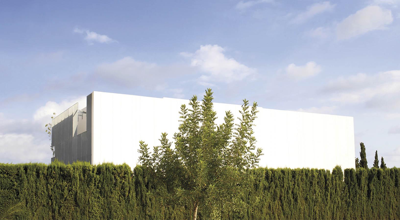 Villa La font facade de Tramex, new building, Alicante, San Juan Pueblo